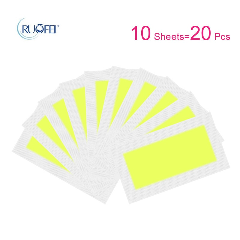 10pcs Lot Hair Removal Wax Strips Roll Underarm Wax Strip Paper