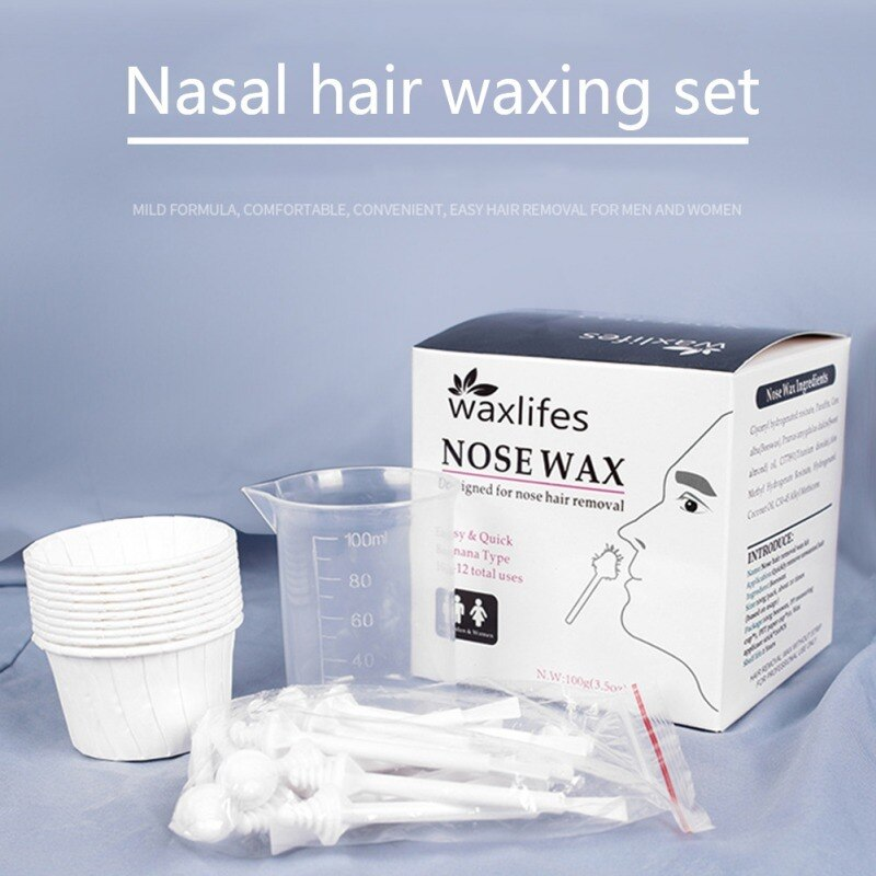 Nose Wax Mild And Non Irritating Portable Nose Hair Removal Wax
